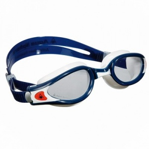 Фото очки для плавания aquasphere kaiman exo blue/white прозрачные линзы