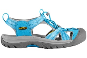 Фото сандалии keen venice h2 lady vivid blue/neutral gray