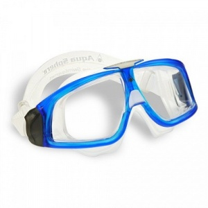 Фото очки для плавания aquasphere seal 2 transparent/blue прозрачные линзы