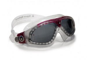 Фото очки для плавания aquasphere seal xp lady magenta/transp темные линзы